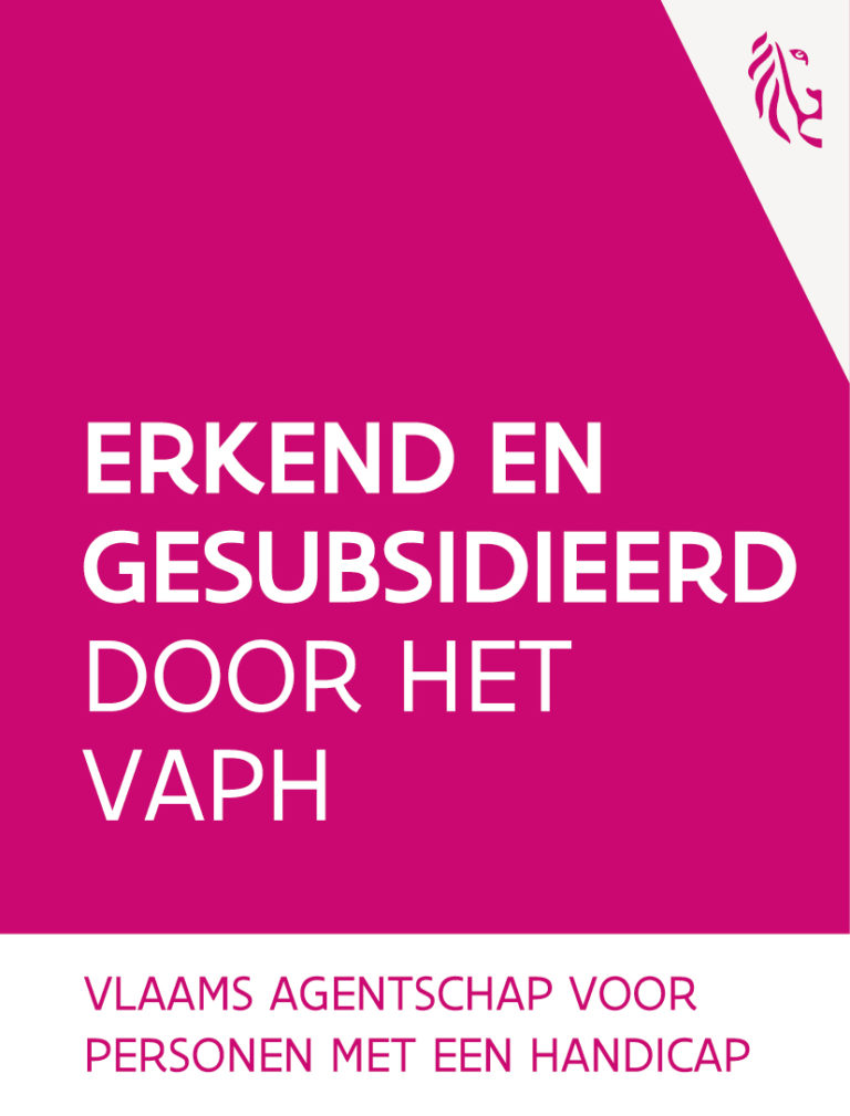 Logo VAPH Erkend en gesubsidieerd