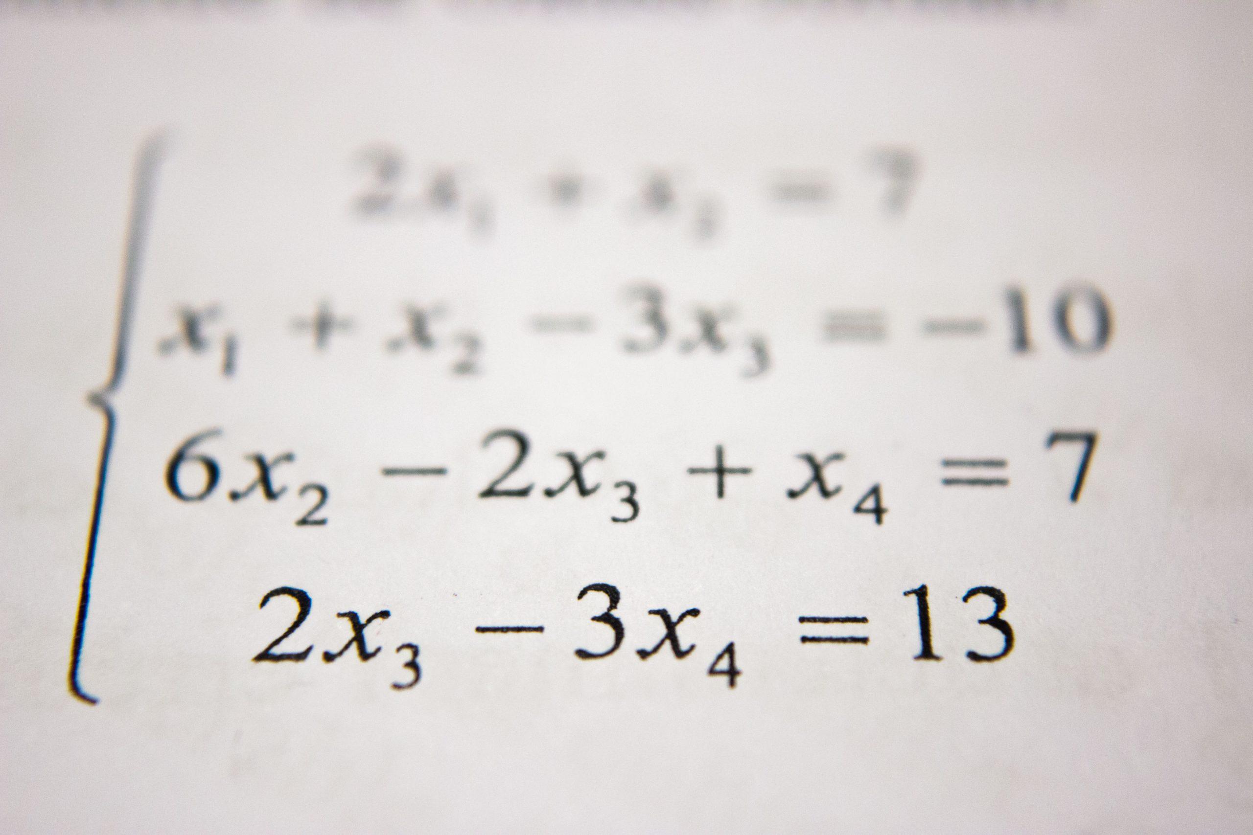 leerkracht wiskunde